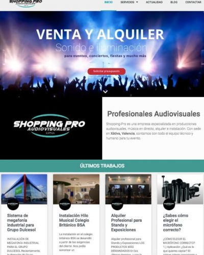 diseño-web-empresa-audiovisual-wordpress
